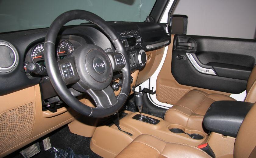 2012 Jeep Wrangler Sahara 4WD AUTO A/C CUIR 2TOITS MAGS #8