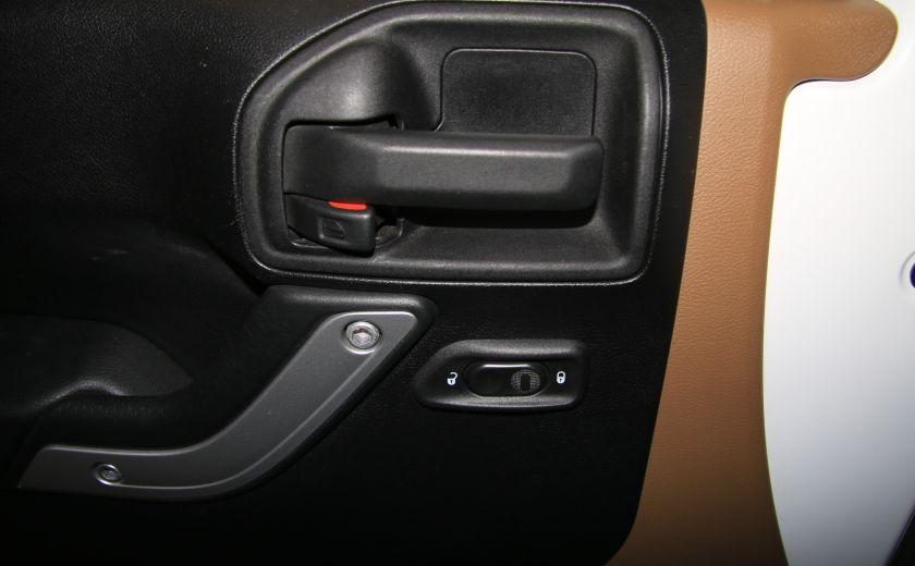 2012 Jeep Wrangler Sahara 4WD AUTO A/C CUIR 2TOITS MAGS #10