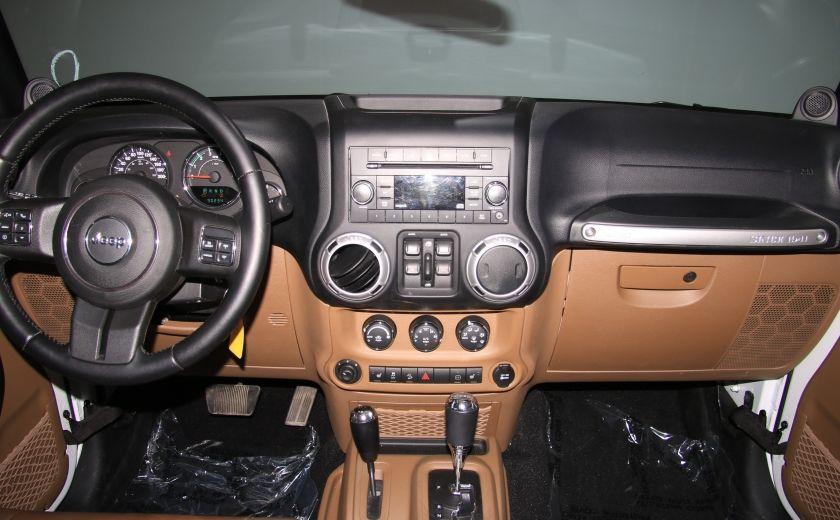 2012 Jeep Wrangler Sahara 4WD AUTO A/C CUIR 2TOITS MAGS #11