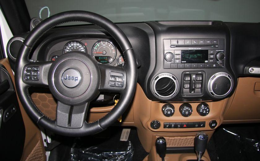 2012 Jeep Wrangler Sahara 4WD AUTO A/C CUIR 2TOITS MAGS #12