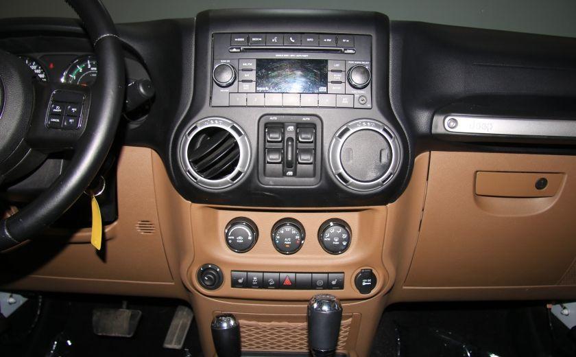 2012 Jeep Wrangler Sahara 4WD AUTO A/C CUIR 2TOITS MAGS #14