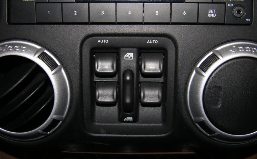 2012 Jeep Wrangler Sahara 4WD AUTO A/C CUIR 2TOITS MAGS #17
