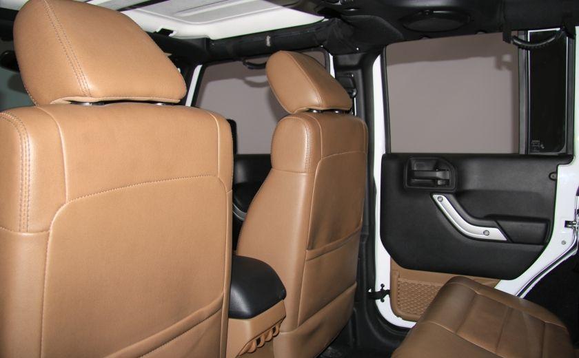 2012 Jeep Wrangler Sahara 4WD AUTO A/C CUIR 2TOITS MAGS #18