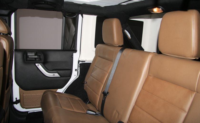 2012 Jeep Wrangler Sahara 4WD AUTO A/C CUIR 2TOITS MAGS #19