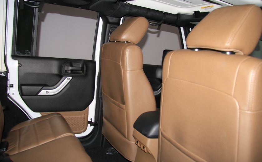 2012 Jeep Wrangler Sahara 4WD AUTO A/C CUIR 2TOITS MAGS #20