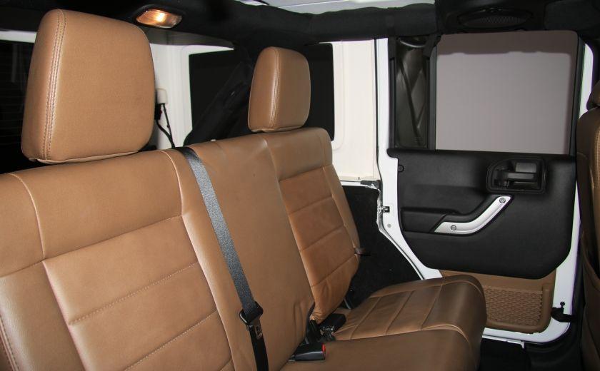 2012 Jeep Wrangler Sahara 4WD AUTO A/C CUIR 2TOITS MAGS #21