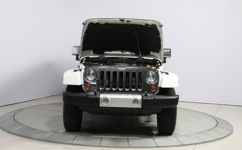 2012 Jeep Wrangler Sahara 4WD AUTO A/C CUIR 2TOITS MAGS #26