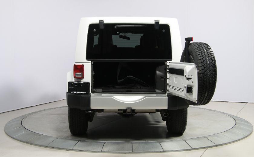 2012 Jeep Wrangler Sahara 4WD AUTO A/C CUIR 2TOITS MAGS #27