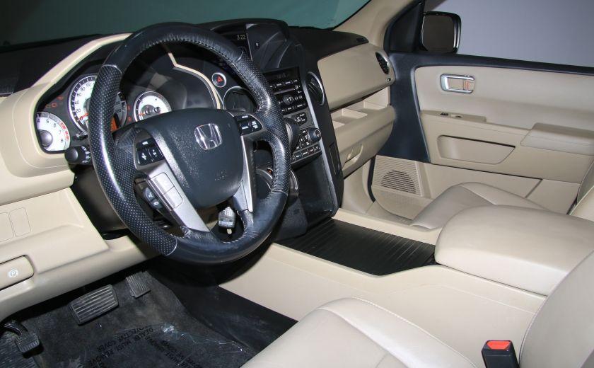2012 Honda Pilot EX-L 4WD CUIR TOIT MAGS 8PASSAGERS #8