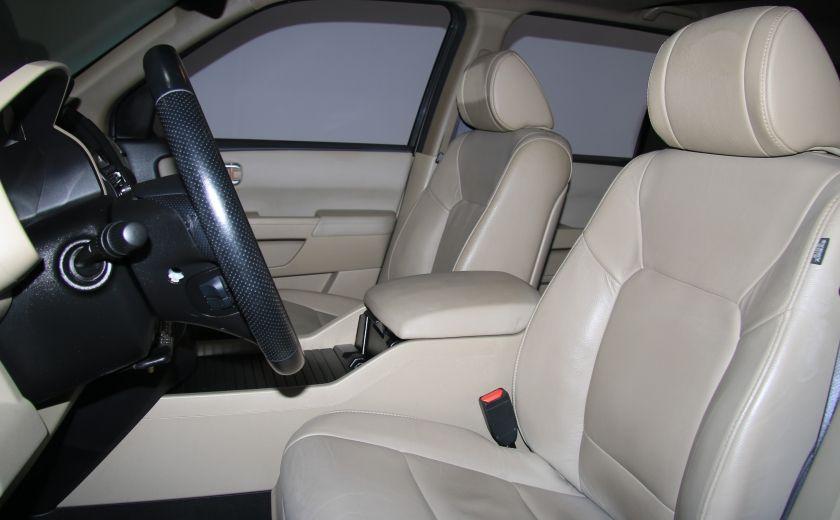 2012 Honda Pilot EX-L 4WD CUIR TOIT MAGS 8PASSAGERS #9