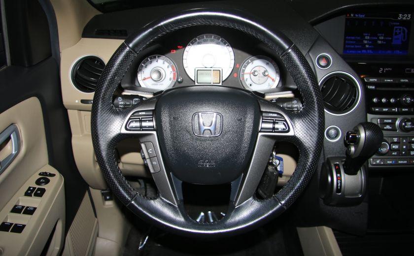 2012 Honda Pilot EX-L 4WD CUIR TOIT MAGS 8PASSAGERS #15
