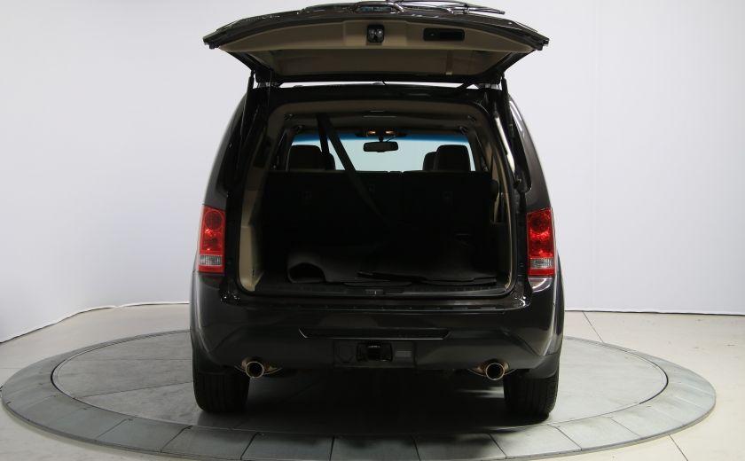 2012 Honda Pilot EX-L 4WD CUIR TOIT MAGS 8PASSAGERS #34