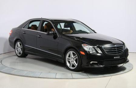 2011 Mercedes Benz E350 4MATIC AUTO A/C CUIR TOIT NAV MAGS BLUETOOTH in Blainville
