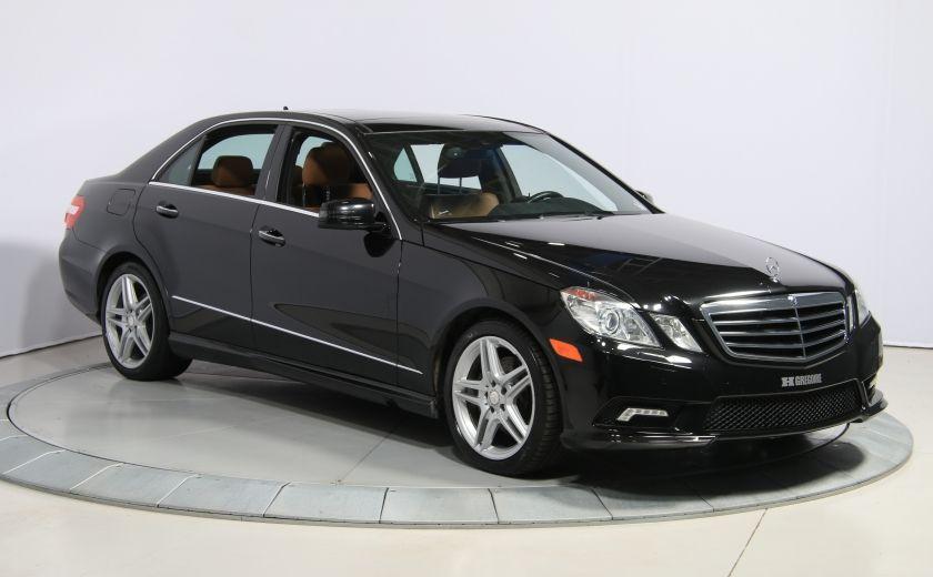 2011 Mercedes Benz E350 4MATIC AUTO A/C CUIR TOIT NAV MAGS BLUETOOTH #0