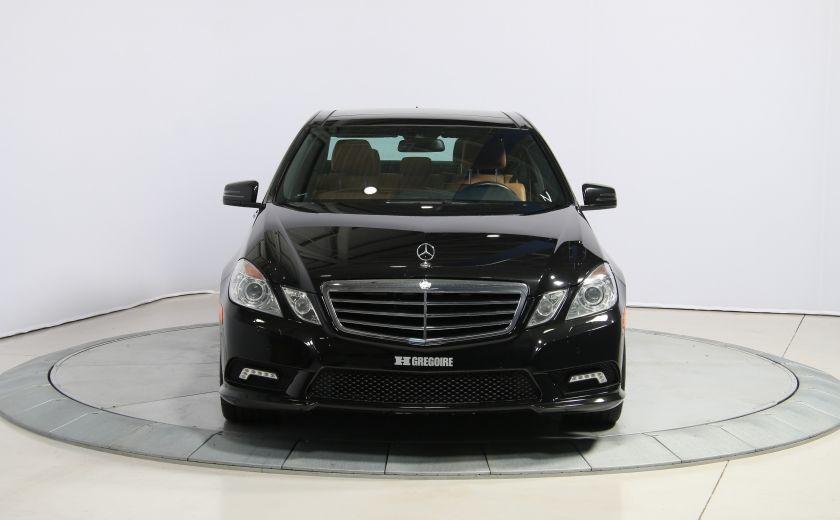 2011 Mercedes Benz E350 4MATIC AUTO A/C CUIR TOIT NAV MAGS BLUETOOTH #1