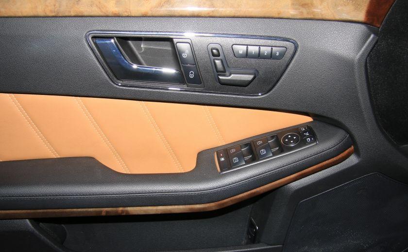 2011 Mercedes Benz E350 4MATIC AUTO A/C CUIR TOIT NAV MAGS BLUETOOTH #10
