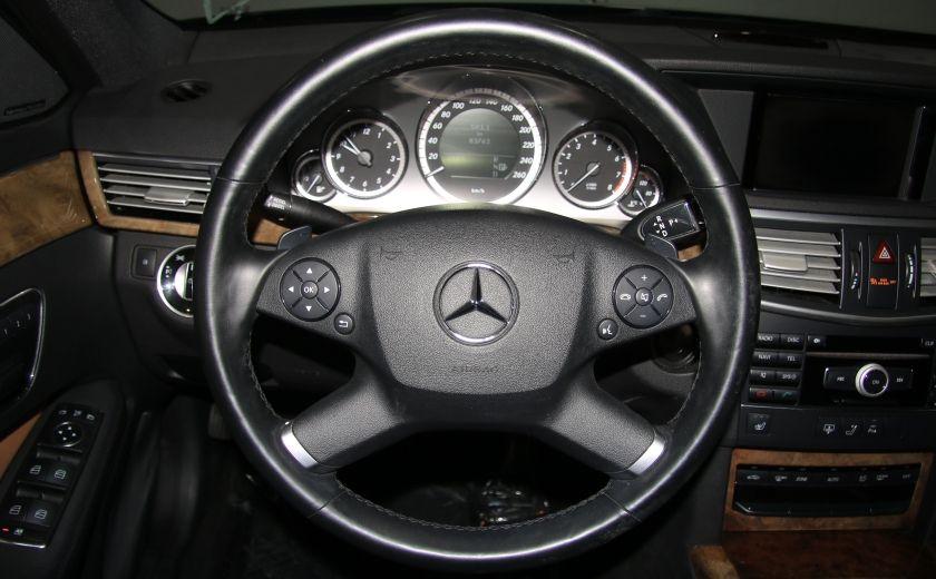 2011 Mercedes Benz E350 4MATIC AUTO A/C CUIR TOIT NAV MAGS BLUETOOTH #14