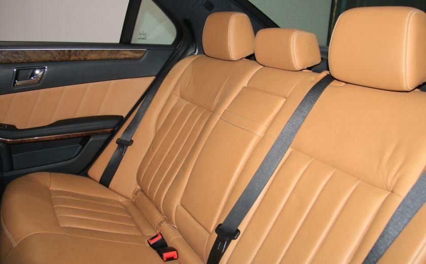 2011 Mercedes Benz E350 4MATIC AUTO A/C CUIR TOIT NAV MAGS BLUETOOTH #22