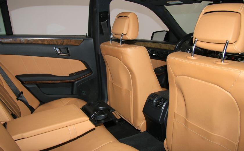 2011 Mercedes Benz E350 4MATIC AUTO A/C CUIR TOIT NAV MAGS BLUETOOTH #23