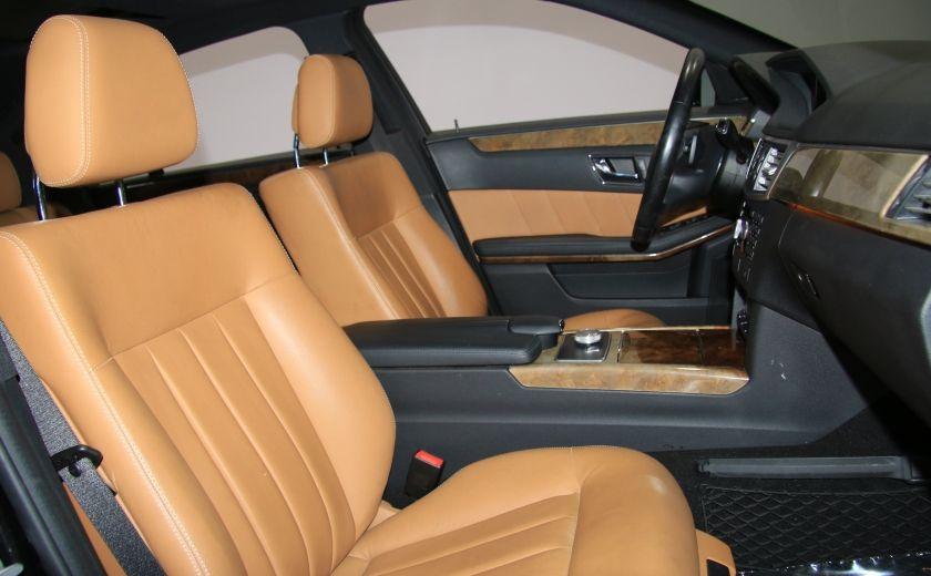 2011 Mercedes Benz E350 4MATIC AUTO A/C CUIR TOIT NAV MAGS BLUETOOTH #27