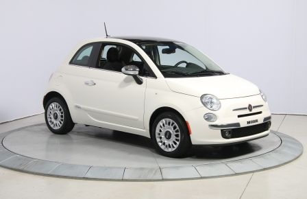 2013 Fiat 500 Lounge A/C CUIR TOIT MAGS BLUETOOTH in Saint-Hyacinthe