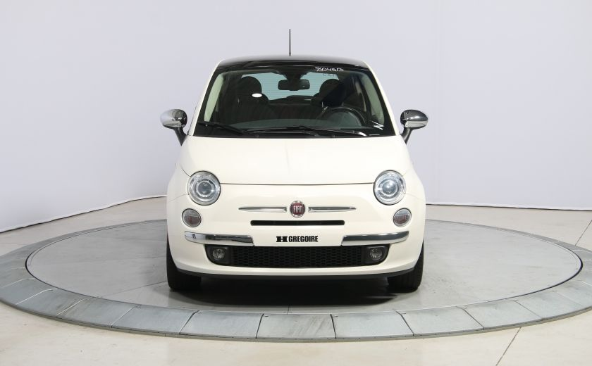 2013 Fiat 500 Lounge A/C CUIR TOIT MAGS BLUETOOTH #1