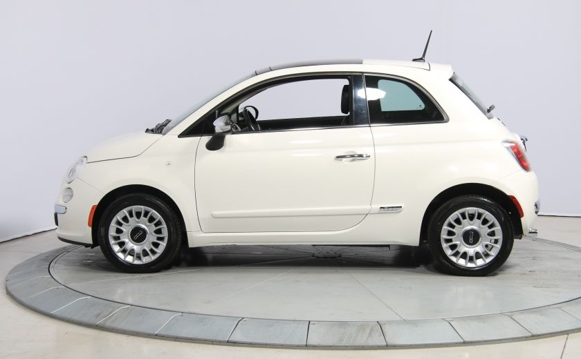 2013 Fiat 500 Lounge A/C CUIR TOIT MAGS BLUETOOTH #3