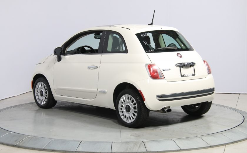2013 Fiat 500 Lounge A/C CUIR TOIT MAGS BLUETOOTH #4