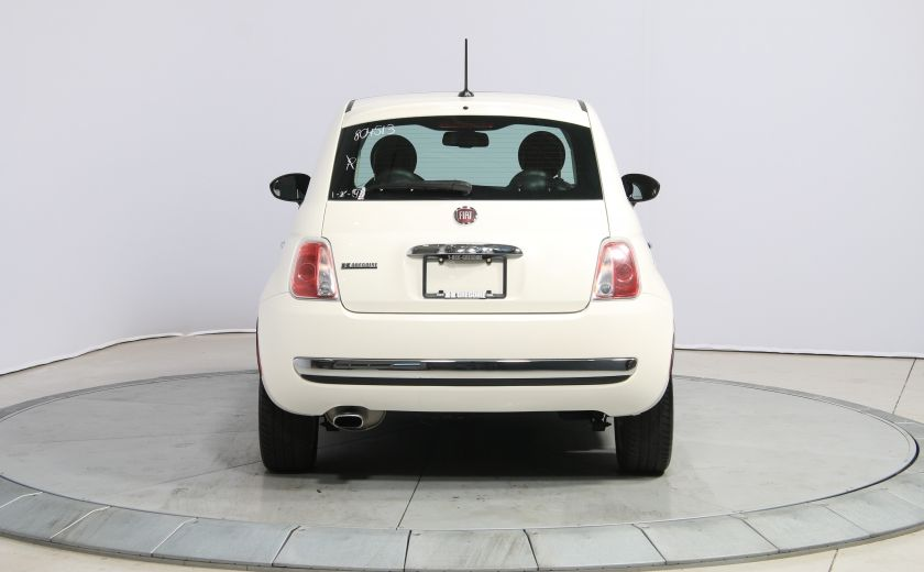 2013 Fiat 500 Lounge A/C CUIR TOIT MAGS BLUETOOTH #5