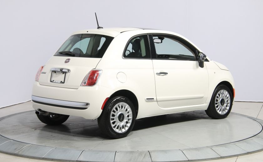 2013 Fiat 500 Lounge A/C CUIR TOIT MAGS BLUETOOTH #6