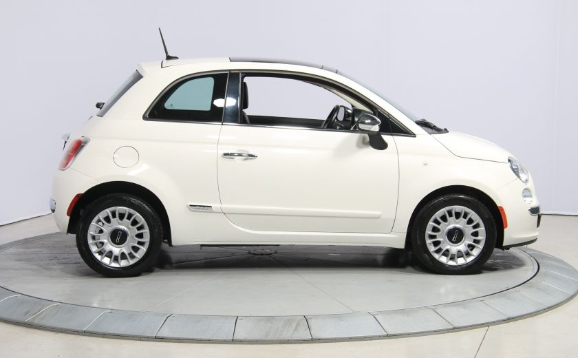 2013 Fiat 500 Lounge A/C CUIR TOIT MAGS BLUETOOTH #7