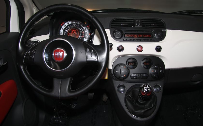 2013 Fiat 500 Lounge A/C CUIR TOIT MAGS BLUETOOTH #13