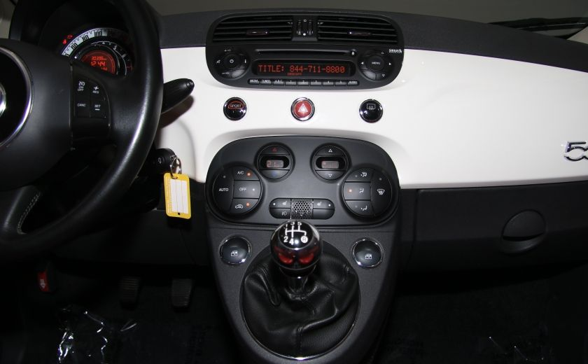 2013 Fiat 500 Lounge A/C CUIR TOIT MAGS BLUETOOTH #15