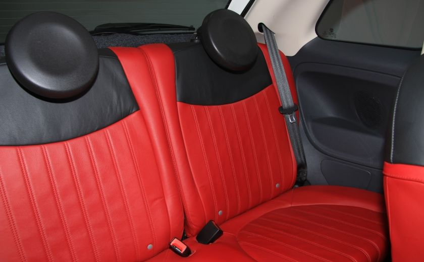 2013 Fiat 500 Lounge A/C CUIR TOIT MAGS BLUETOOTH #21