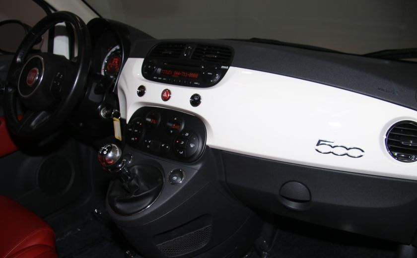 2013 Fiat 500 Lounge A/C CUIR TOIT MAGS BLUETOOTH #22