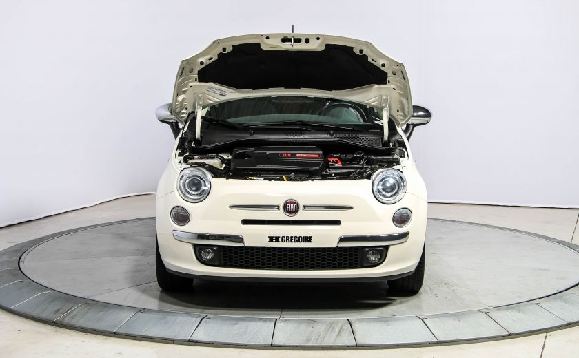 2013 Fiat 500 Lounge A/C CUIR TOIT MAGS BLUETOOTH #26