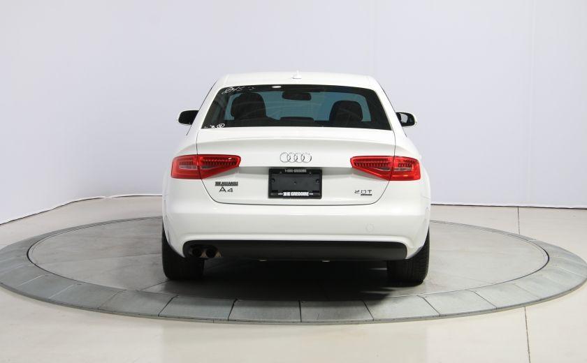 2013 Audi A4 QUATTRO CUIR TOIT MAGS 6 SPEED #5
