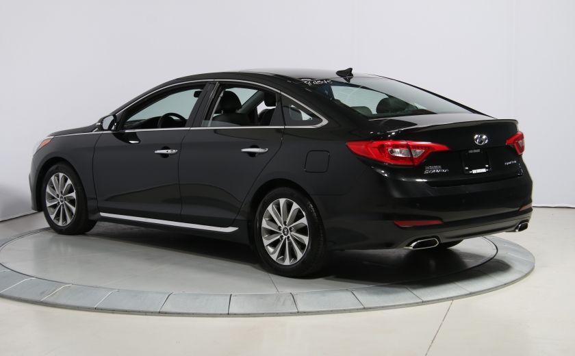 2016 Hyundai Sonata 2.4L Sport Tech AUTO A/C TOIT PANO MAGS BLUETOOTH #4