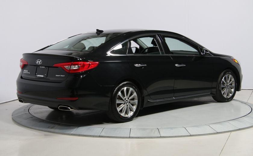 2016 Hyundai Sonata 2.4L Sport Tech AUTO A/C TOIT PANO MAGS BLUETOOTH #6