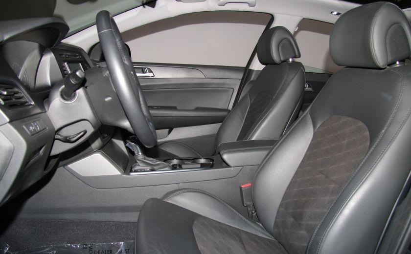 2016 Hyundai Sonata 2.4L Sport Tech AUTO A/C TOIT PANO MAGS BLUETOOTH #9