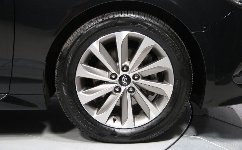 2016 Hyundai Sonata 2.4L Sport Tech AUTO A/C TOIT PANO MAGS BLUETOOTH #33