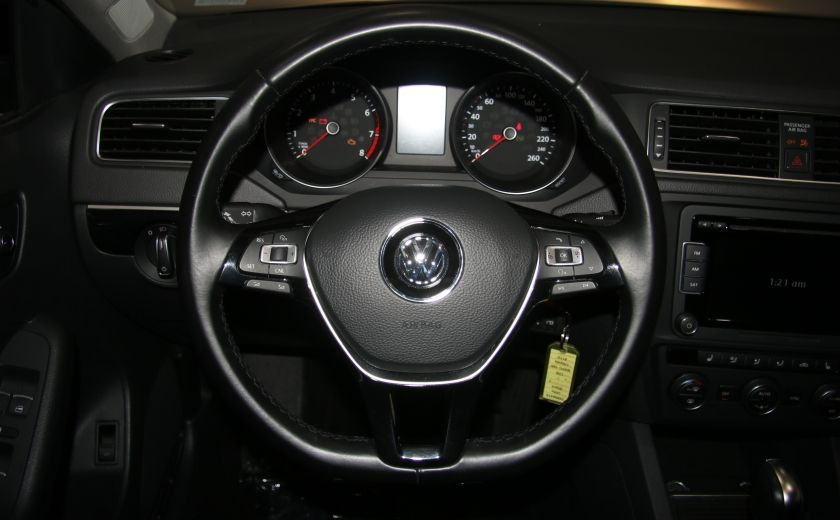 2015 Volkswagen Jetta Comfortline AUTO A/C TOIT MAGS BLUETOOTH CAM. RECU #14