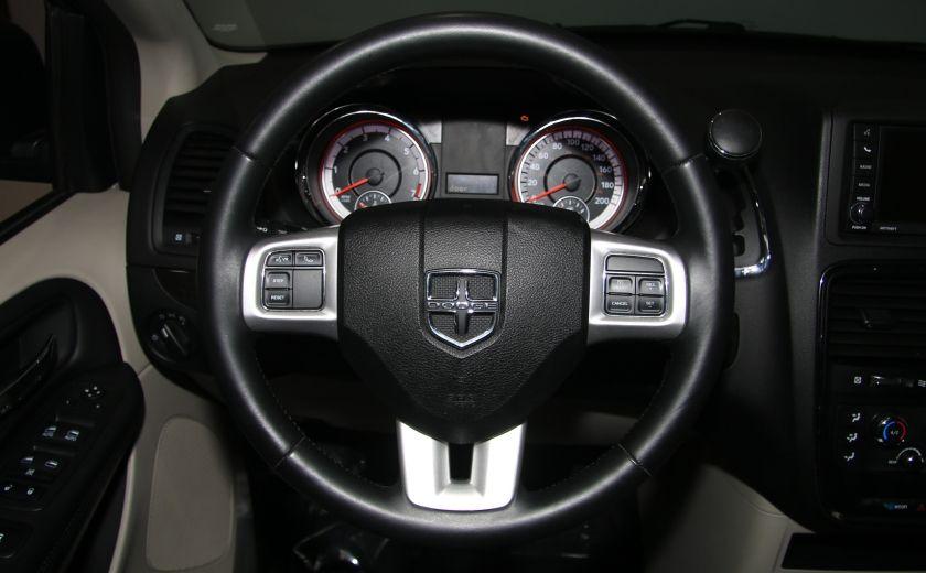 2013 Dodge GR Caravan SXT STOW'N GO DVD MAGS CAMERA RECUL #13