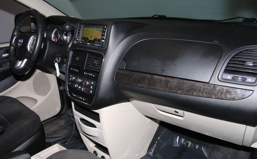 2013 Dodge GR Caravan SXT STOW'N GO DVD MAGS CAMERA RECUL #28