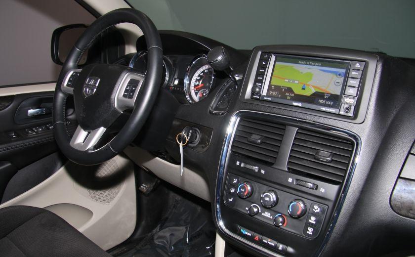 2013 Dodge GR Caravan SXT STOW'N GO DVD MAGS CAMERA RECUL #29