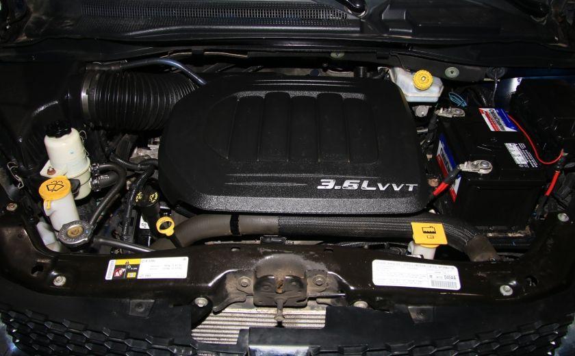 2013 Dodge GR Caravan SXT STOW'N GO DVD MAGS CAMERA RECUL #31