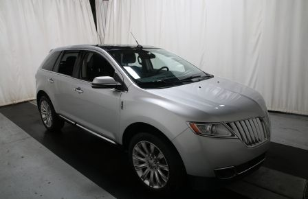 2013 Lincoln MKX AWD AUTO A/C CUIR TOIT MAGS CHROME in Lévis