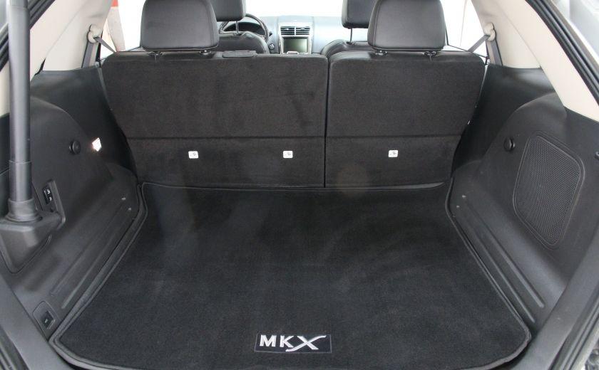 2013 Lincoln MKX AWD AUTO A/C CUIR TOIT MAGS CHROME #28