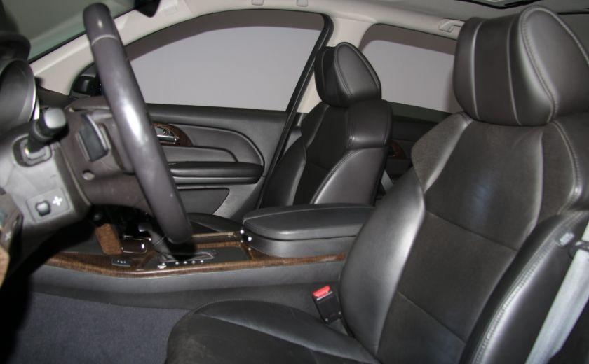 2013 Acura MDX Tech Pkg AWD CUIR TOIT NAV DVD 7PASSAGERS BLUETOOT #9
