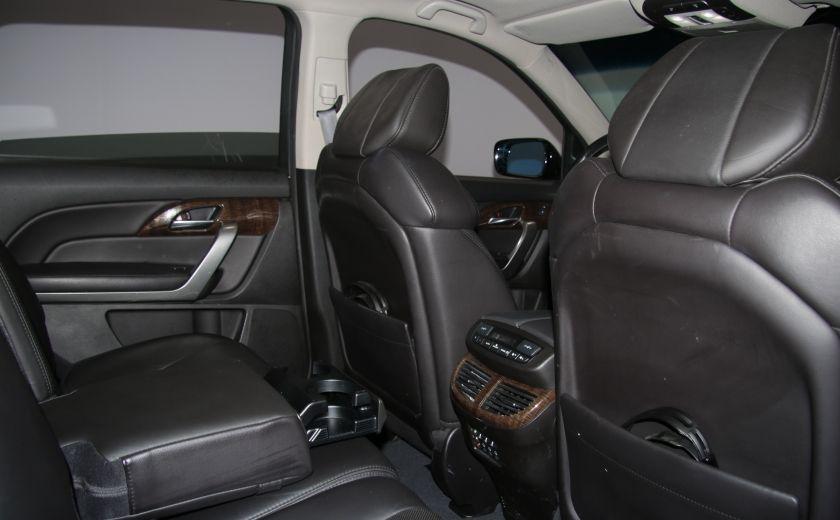 2013 Acura MDX Tech Pkg AWD CUIR TOIT NAV DVD 7PASSAGERS BLUETOOT #28